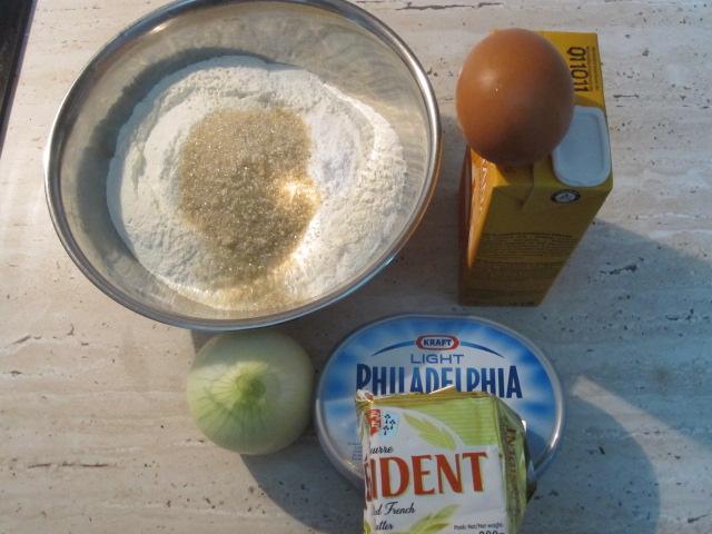 아무나 다 만드는 Onion Cream Cheese Scone