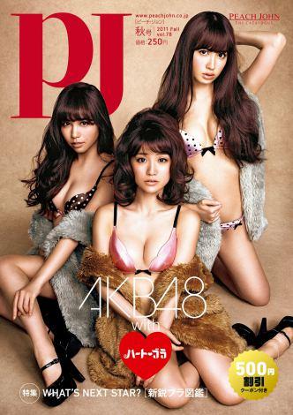 AKB48, 오오시마 등 PJ社의 이미지 케릭터에! '란제..
