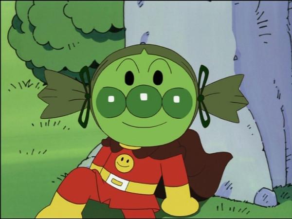 호빵맨의 트윈테일... 무서우면서도 어딘가 귀엽..
