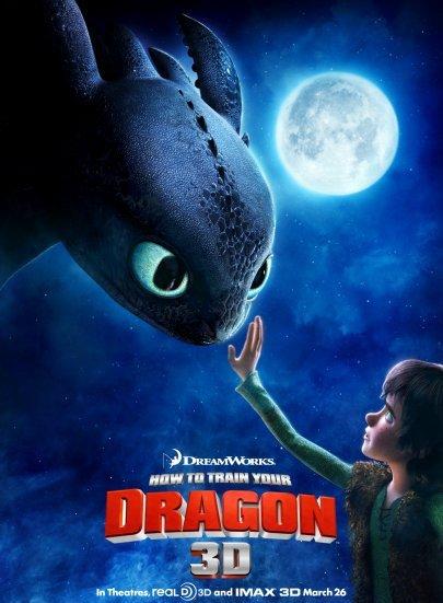 드래곤 길들이기(How to train your dragon, 2010)..
