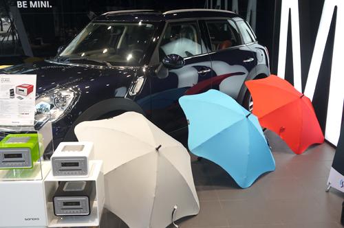 자동차와 오디오, 우산이 만난 이유? -1