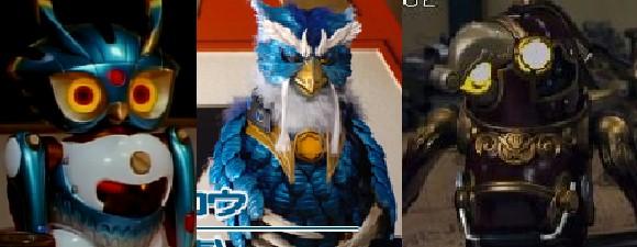 슈퍼전대 시리즈 새(鳥) 캐릭터