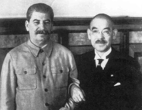 스탈린과 마쓰오카의 대화,1941년 ^ ^
