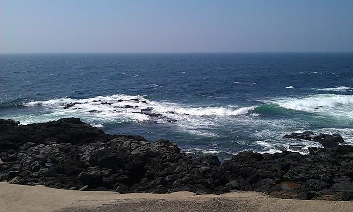 """조조의 시, """"푸른 바다를 바라보며"""""""