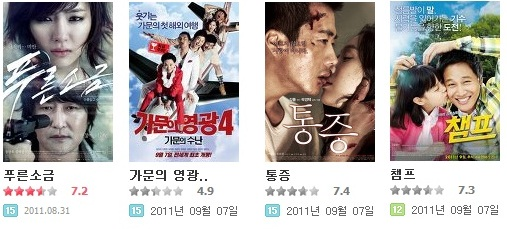 추석 시즌 9월에 개봉하는 한국영화 프리뷰