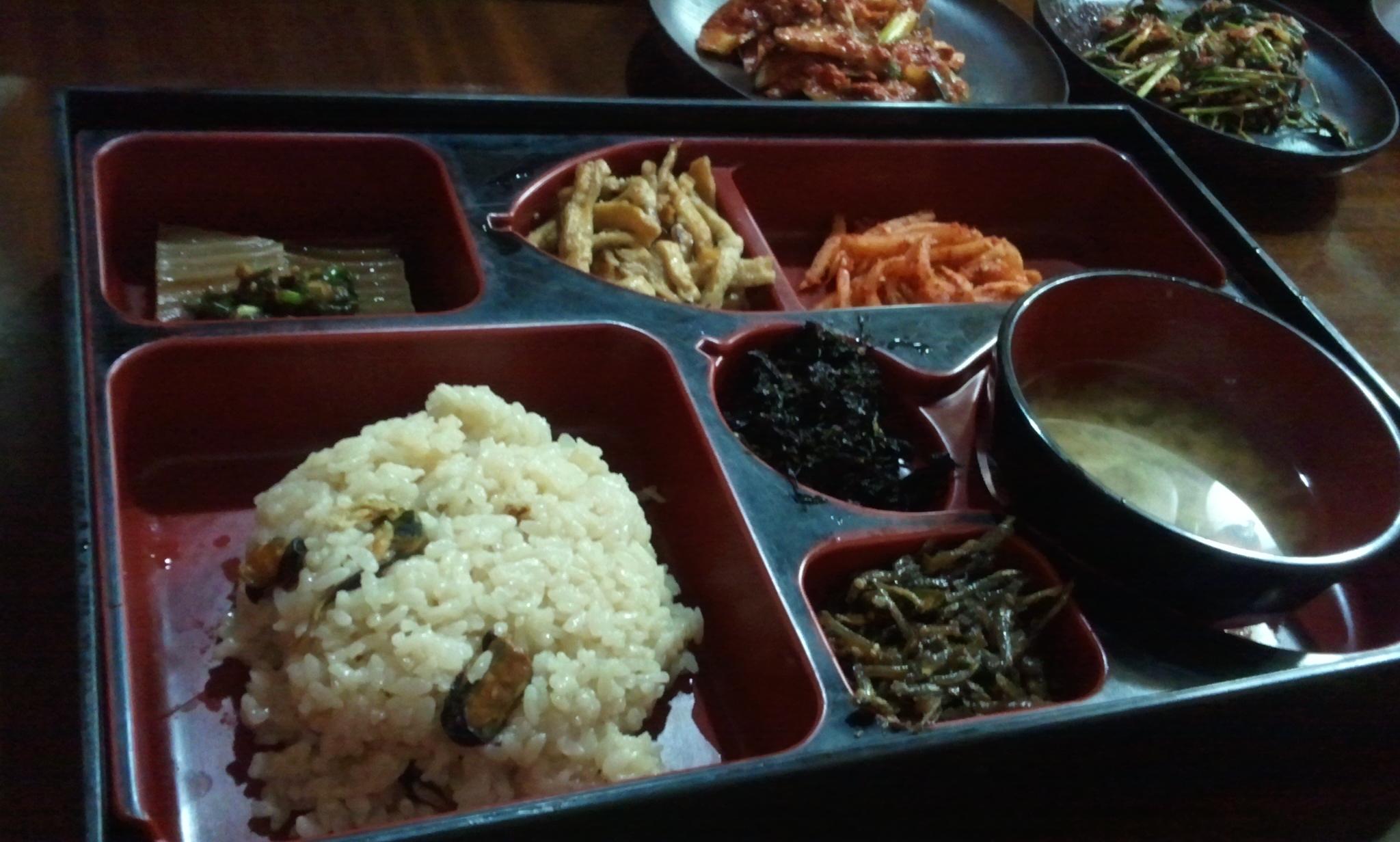 삼청동 _ 청수정 _ 홍합밥