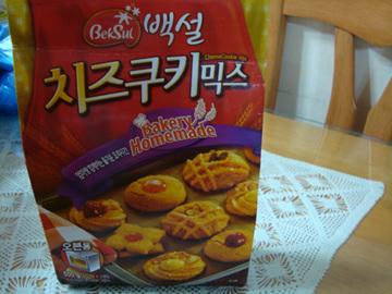 [베이킹] 백설치즈쿠키 믹스를 이용한 치즈쿠키..