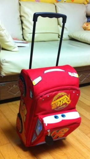 car애니메이션 여행 캐리어가방