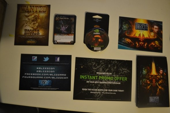 [WOW] 블리즈컨 2011 선물보따리