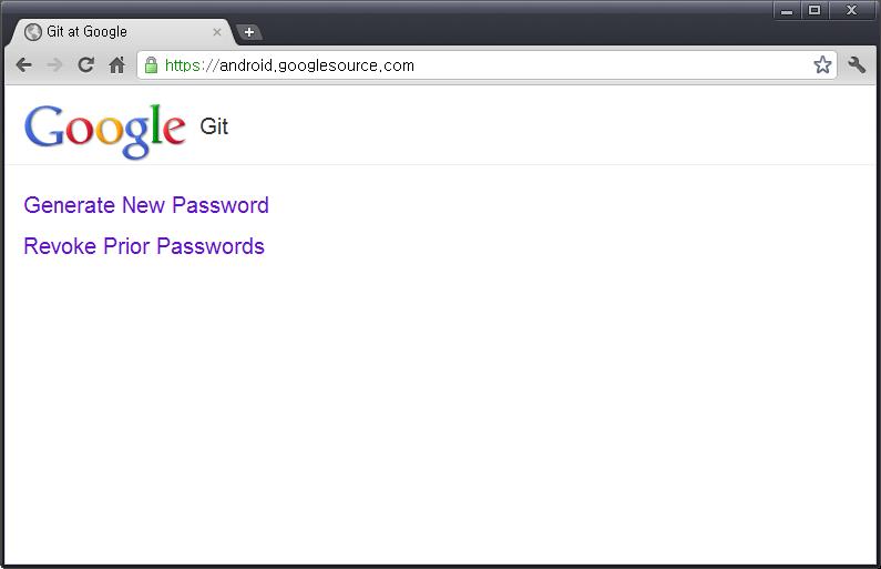 복구된 안드로이드 Git Repository