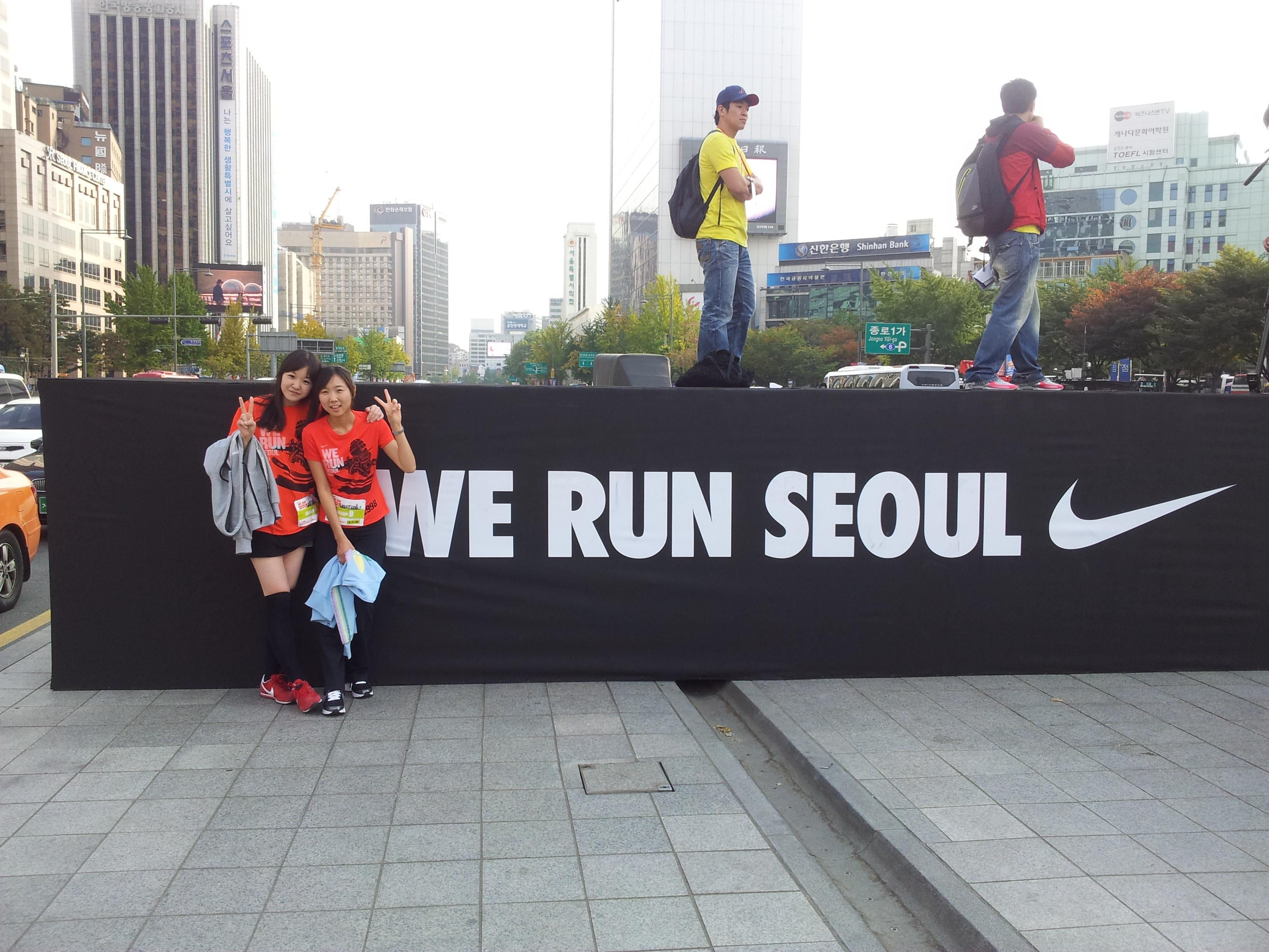 111023+ 마라톤데뷔! we run seoul