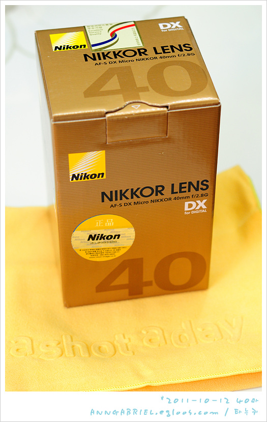 [니콘] 새로운 40mm 접사렌즈를 영접하라~ AF-S ..