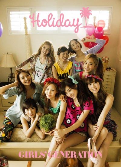 소녀시대 :: 일본 1st 공식 포토북『Holiday』