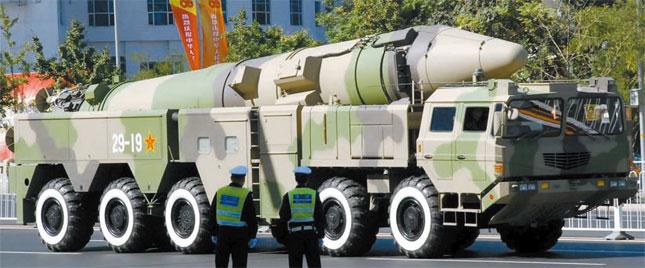 일본 사면초가.  중국이 일본에 핵공격 훈련 준비