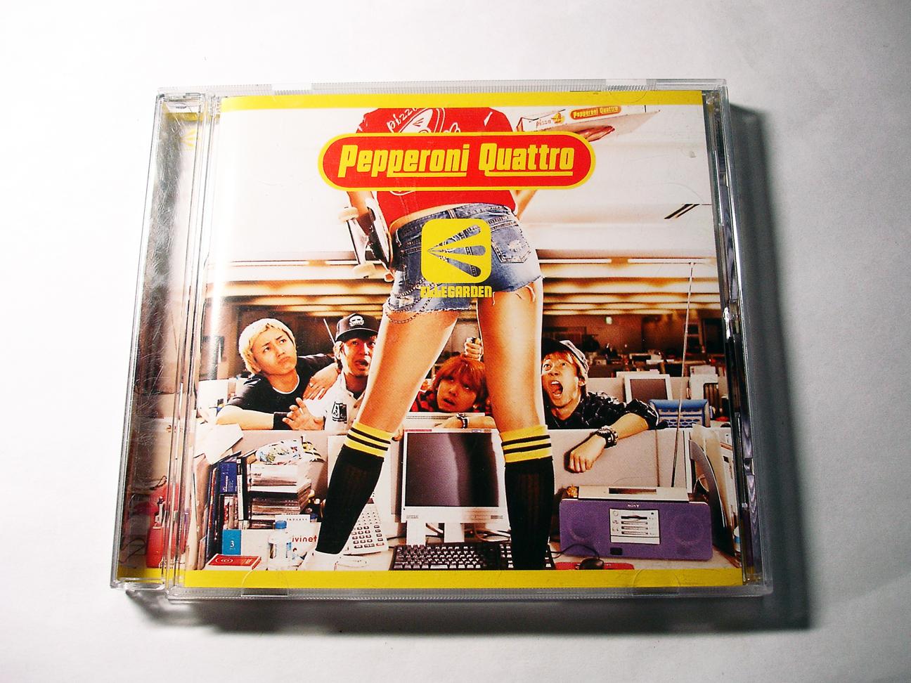 (album) Pepperoni Quattro - Ellegarden