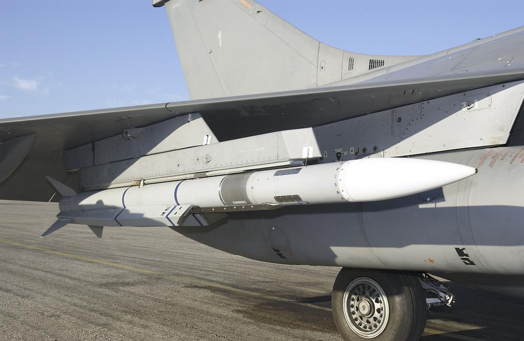 개발-테스트가 진행 중인 유럽의 미티어 미사일