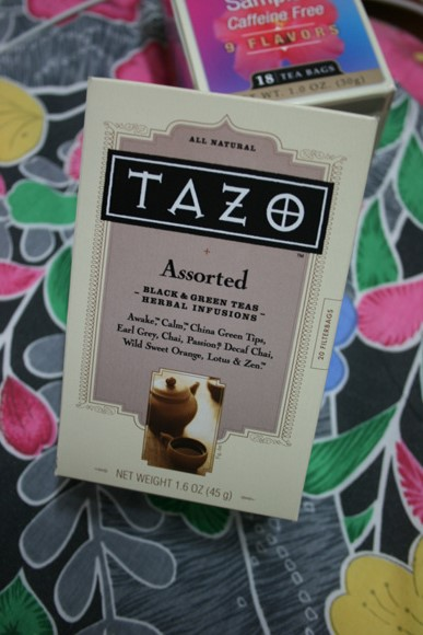 TAZO TEA ASSORTED
