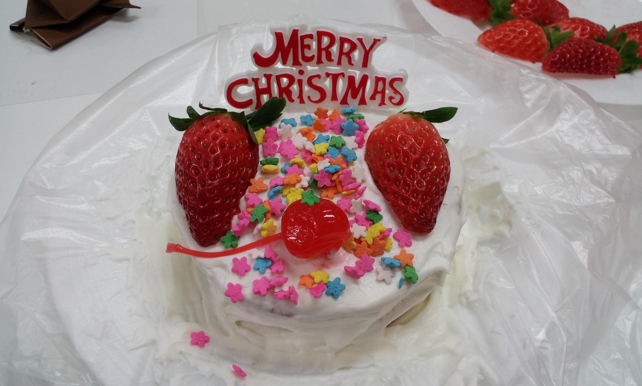 2011.12.22 - 오늘 아동멘토활동에서 만든 케익