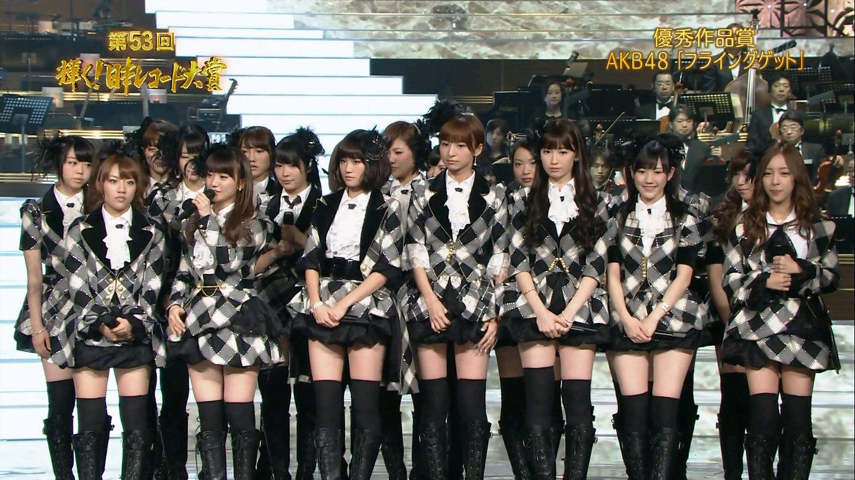 2011년도 일본 레코드 대상은 'AKB48'의 노래 '플라잉겟'