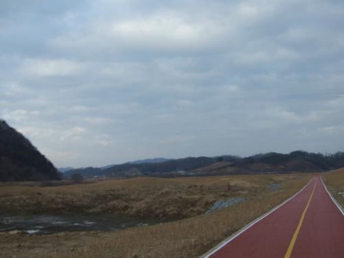대전 금강 따라 자전거타기