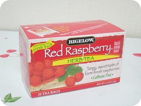 [아이허브] Bigelow Red Raspberry, 카페인..