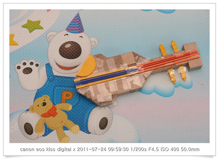 20110724 프뢰벨 은물-바이올린