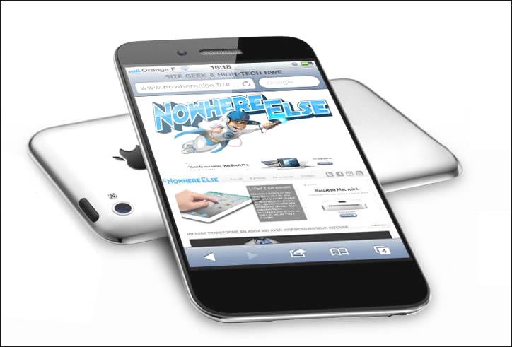 새 아이폰5가 발표가 되려나?