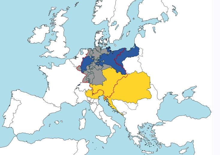 """""""19세기초 독일 문제의 핵심은?"""""""