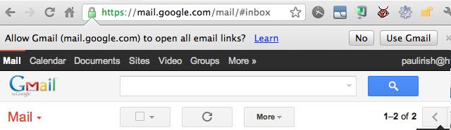 이메일 클라이언트를 Gmail로 설정하는 방법 (크..