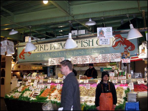 미국서부여행 6일차 (4): Pike Place Fish~Fr..