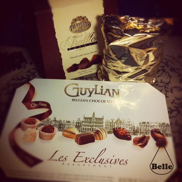 발렌타인 초콜릿 ; 길리안&트뤼플