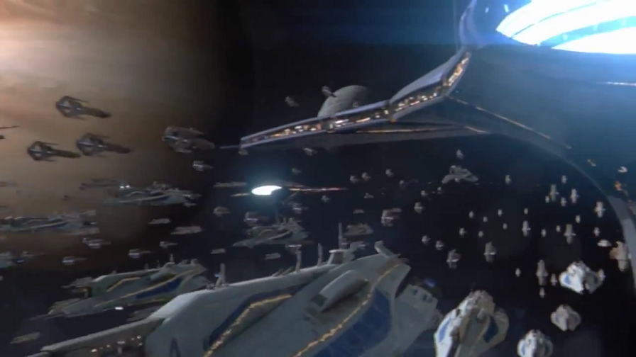 매스 이펙트 3의 우주 함대전 / 런치 트레일러