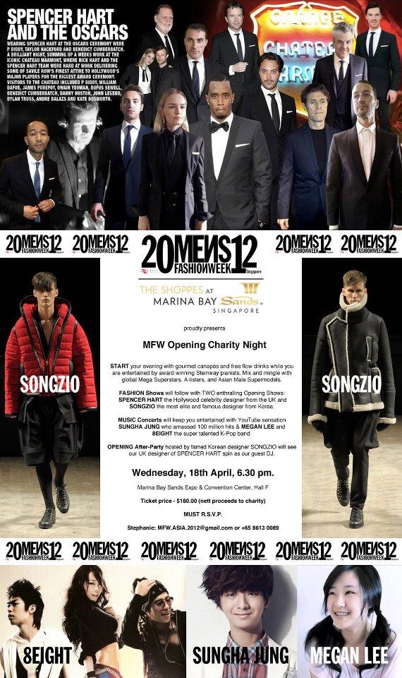 2012 MENS FASHIONWEEK - Singapore