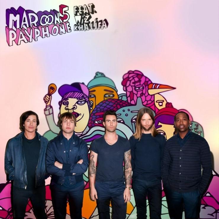 Maroon5 - payphone (feat. Wiz Khalifa)