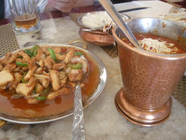 몽골 D+18 델히 다르바르 : 맛있는 인도 음식점 - 몽..