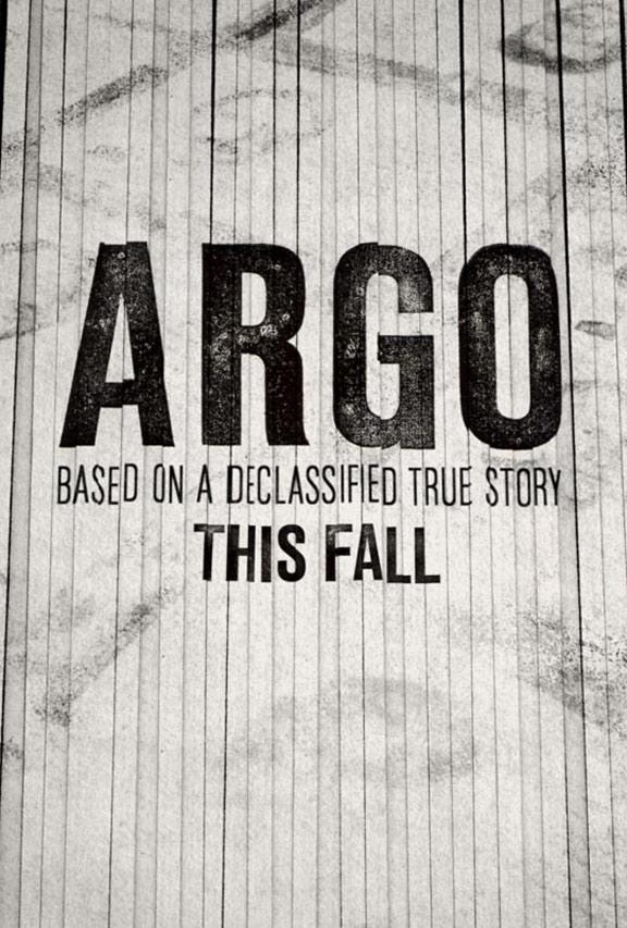 """벤 에플렉의 또 다른 도전, """"Argo"""" 입니다."""