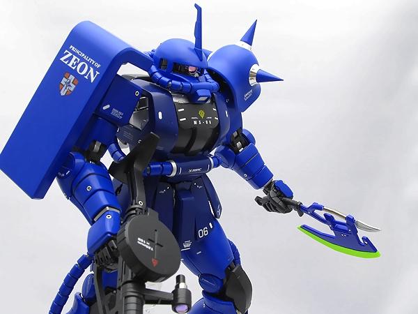 [자쿠 작례 일옥] MG 1/100 MS-06S ランバラル専..