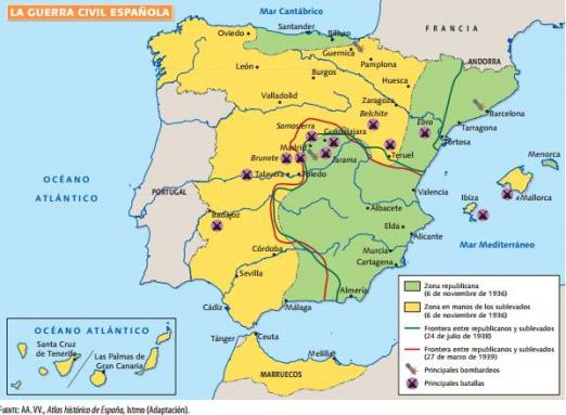 스페인 현대역사 (2) - 스페인 내전 (1936-1939)