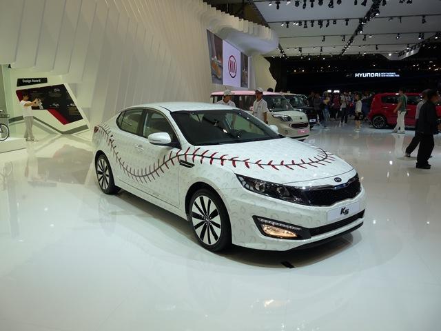 2012 부산국제모터쇼 기아자동차 K9과 컨셉트 차량
