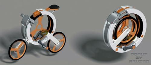 완벽하게 접히는 폴딩 자전거