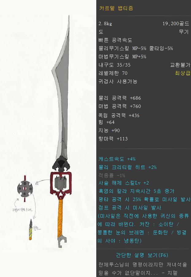 [DNF] 무기콘테스트 준비한 것들