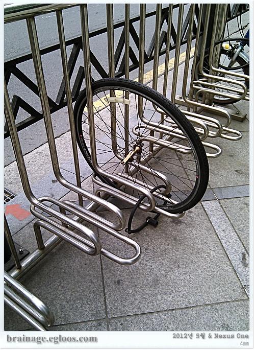 자전거 도둑 맞았네 - 자전거 활성화는 개뿔