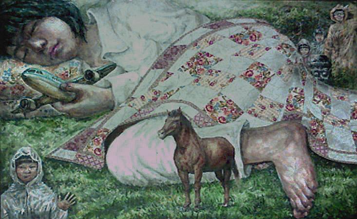 수학여행 78.8X54.4 , by watercolor