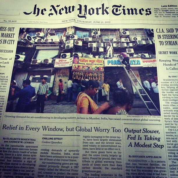 New York, Thursday, June 21, 2012