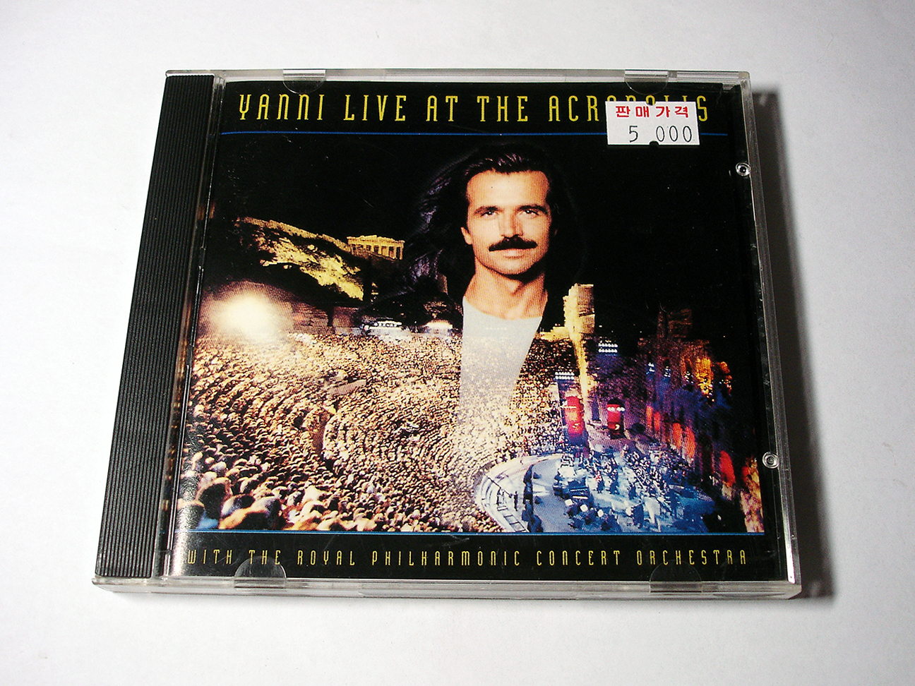 (album) Live At The Acropolis - Yanni