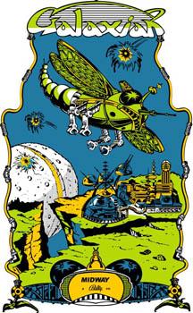 갤럭시안 (Galaxian, 1979, NAMCO)