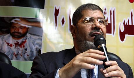 이집트 신출 대통령의 위엄