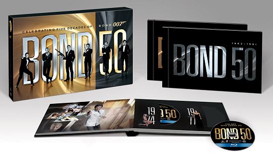 """""""007 50주년 기념판 블루레이"""" 예고편입니다."""