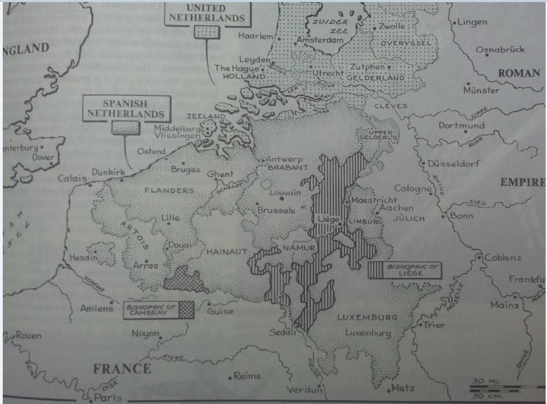 네덜란드 독립전쟁 1568-1648 (1)