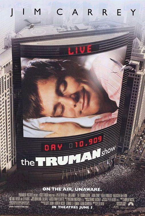 트루먼 쇼, The Truman Show, 1998